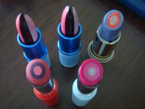triple-core lipstick,3 Colors Lipstick Mold